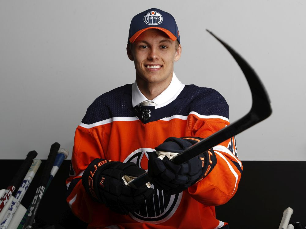 Philip the Fearless! Expectation building for Broberg's arrival to Edmonton Oilers