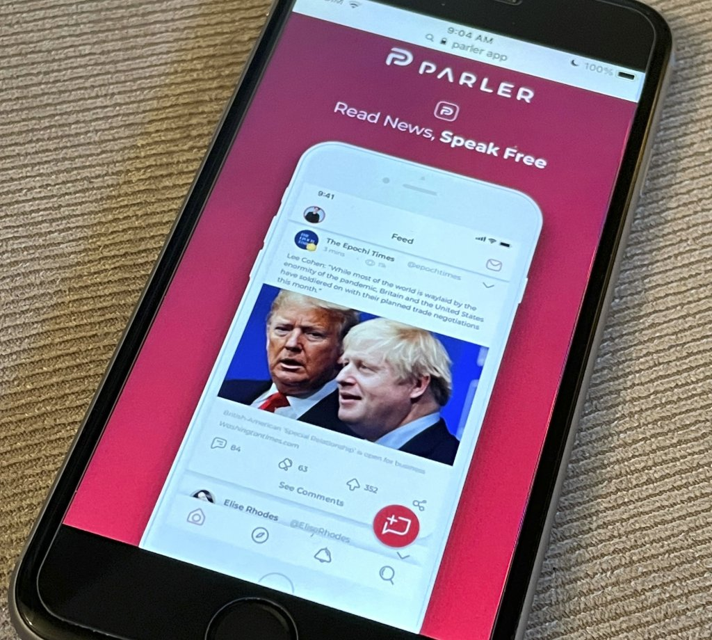 "Parler Sues Amazon For ""Trying To Kill"" It Over Political Speech, Competition"
