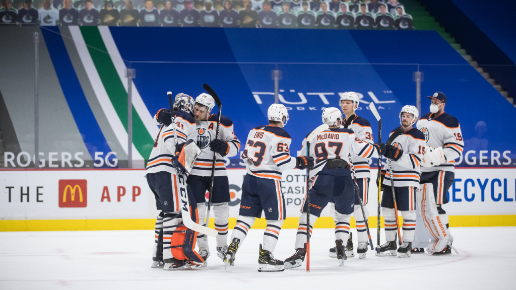 Oilers don't break a sweat vs. Canucks with their sights fixed on playoffs
