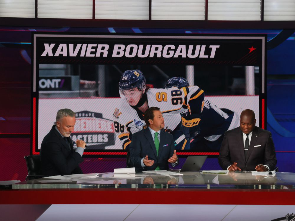 Edmonton Oilers select Quebec League sniper Xavier Bourgault at #22 overall