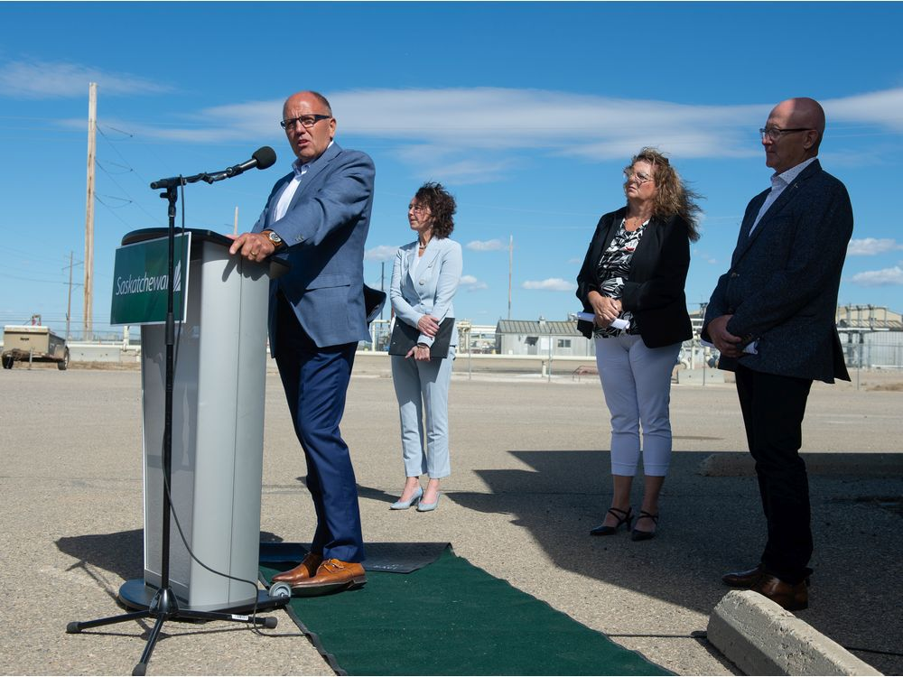 Sask. rolls out strategy to promote enhanced oil recovery using CO2